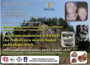 plakat nadesłany przezOrganizatora (Towarzystwo Bursy Gimnazjalnej im.dra Jana Bednarskiego)