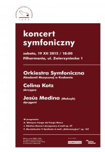 19 XII koncert symfoniczny