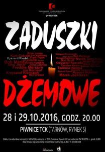 plakat nadesłany przezOrganizatora (Tarnowskie Centrum Kultury)