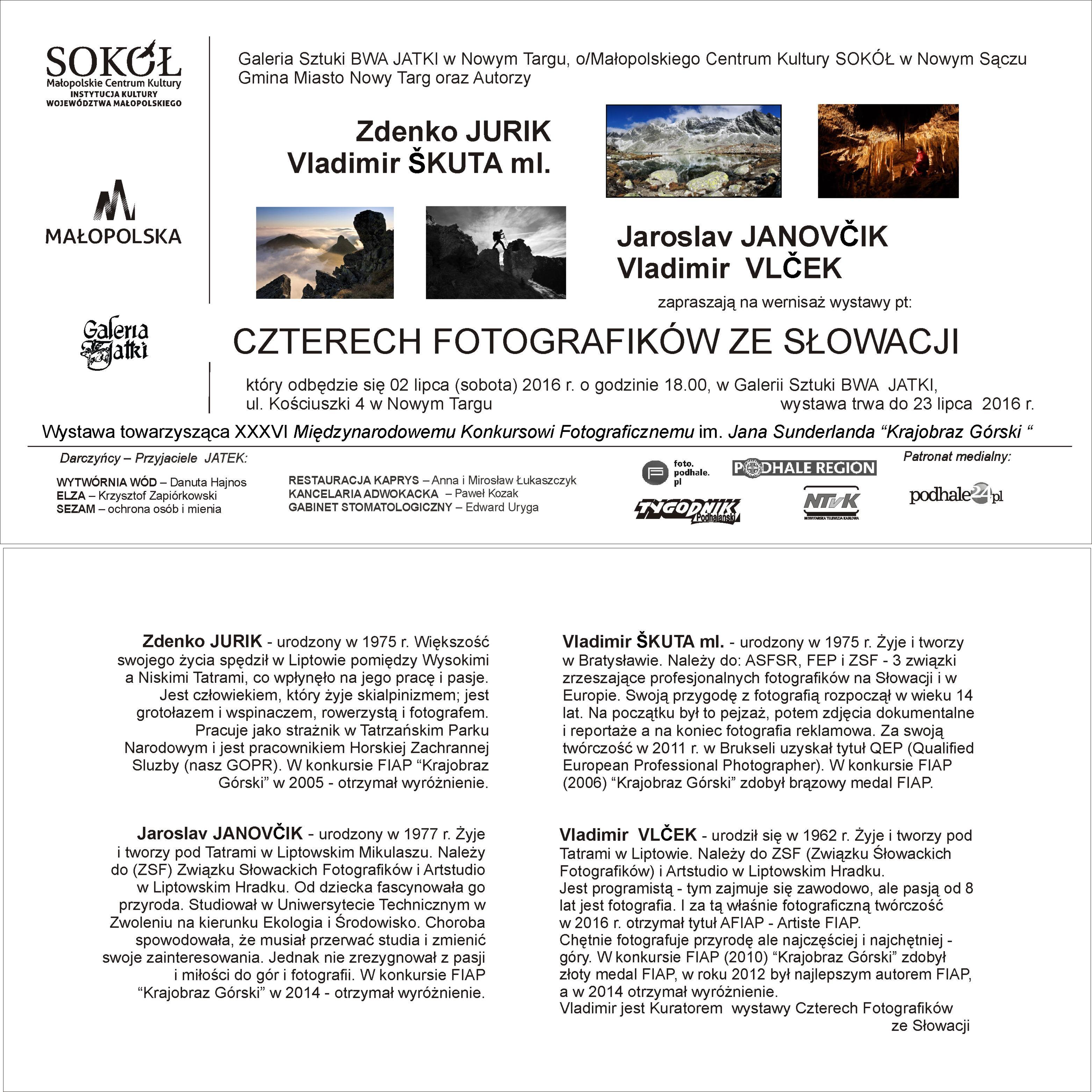 4 fotograf - zaproszenie