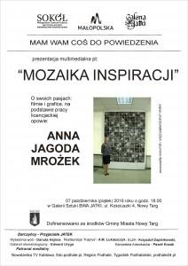 plakat nadesłany przezOrganizatora (Małopolskie Centrum Kultury SOKÓŁ wNowym Sączu)