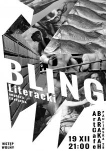 ArtCafe Barakah - Bling Literacki__plakat