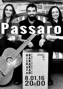ArtCafe Barakah - koncert (Passaro)__plakat