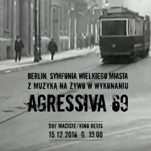 plakat nadesłany przez Organizatora (Kino Regis)