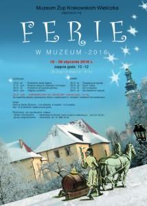 Ferie wMuzeum 2016 plakat