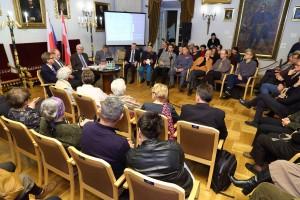 Foto zdebaty 7.11 - fot.A. Janikowski MHK (zdjęcie nadesłane przezOrganizatora)