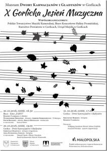 plakat nadesłany przezOrganizatora (Muzeum Dwory Karwacjanów iGładyszów)