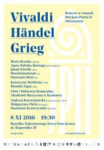 plakat nadesłany przezOrganizatora (Akademię Muzyczną wKrakowie)