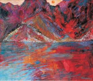 Jan Szancenbach, Morskie Oko zachód słońca, 1997