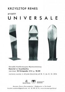 plakat nadesłany przezOrganizatora (Ośrodek Konferencyjno - Wystawienniczy Kasztel wSzymbarku)