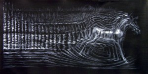 Kompozycja Spektralna - ilustracja przesłana przezOrganizatora (Galeria Lamelli)