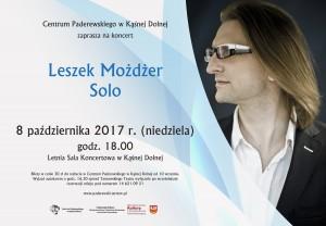 Plakat: Leszek Możdżer Solo