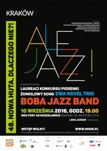 Plakat przesłany przezOśrodek Kultury Kraków-Nowa Huta