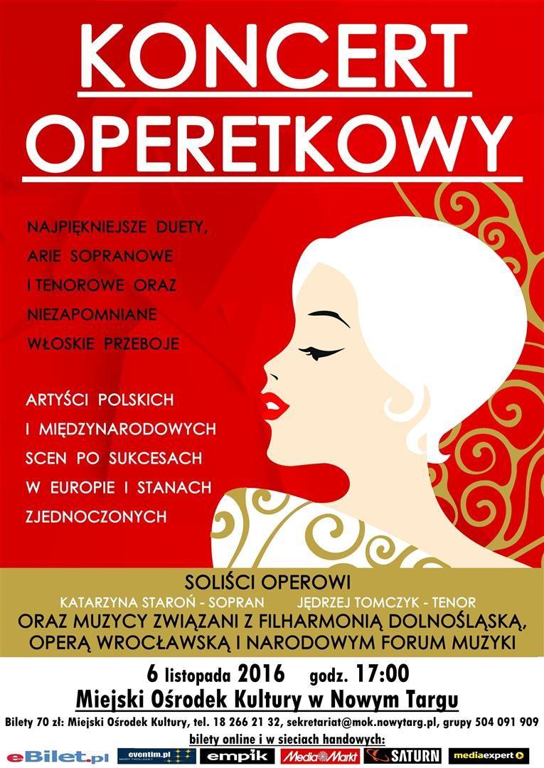 Plakat przesłany przez Organizatora (Miejski Ośrodek Kultury w Nowym Targu)