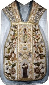 Ornat Franciszek zdyscypliną 1660-1670-Klasztor Franciszkanów OFMConv wKrakowie (fotografia nadesłana przezOrganizatora)