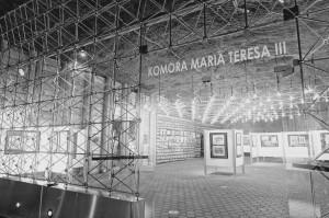 fot. Oryginalna ścianka orazoświetlenie z1966 roku (fot.nadesłana przezOrganizatora)