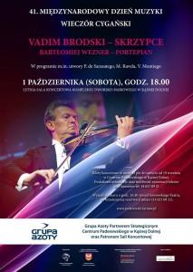 Plakat przesłany przezOrganizatora (Centrum Paderewskiego wKąśnej Dolnej)