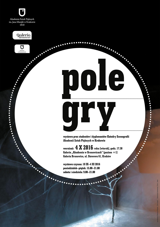 Plakat przesłany przez Organizatora (ASP w Krakowie)