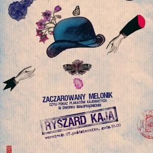 plakat nadesłany przez Organizatora (Centrum Kultury Dworek Białoprądnicki)