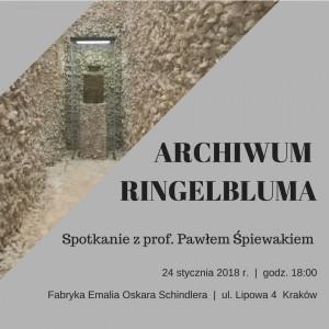 Spotkanie z prof. Pawlem Spiewakiem