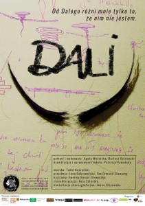 Teatr Barakah - Dali__plakat