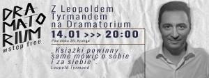 Teatr Barakah - Dramatorium 1 143 (ZLeopoldem Tyrmandem naDramatorium)_grafika