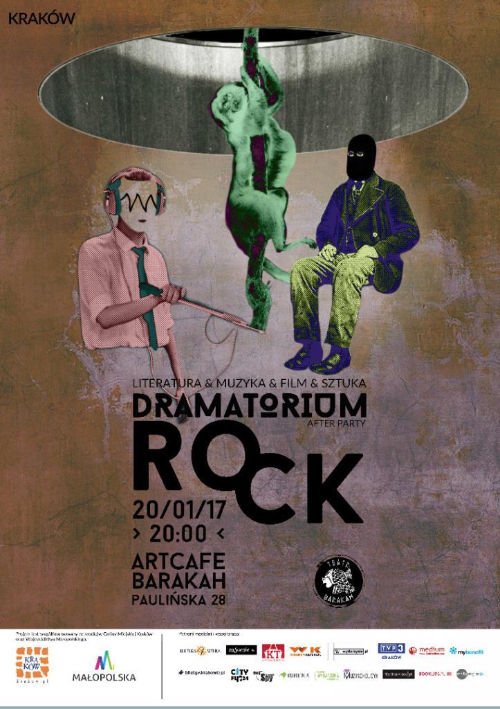 plakat nadesłany przez Organizatora (Teatr Barakah)
