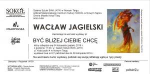 plakat nadesłany przezOrganizatora (Galerię Sztuki BWA JATKI wNowym Targu)