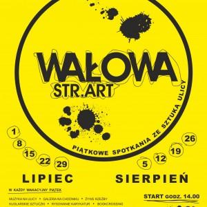 WALOWA STR.ART_plakat