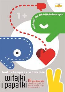 plakat nadesłany przezOrganizatora (Teatr Chrząszcz)
