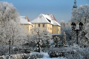 Zamek Żupny wWieliczce zimą - fot.R. Sagan (fot.udostępniona przez: Muzeum Żup Krakowskich Wieliczka)