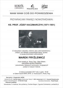 Grafika udostępniona przez: Małopolski Centrum Kultury SOKÓŁ wNowym Sączu