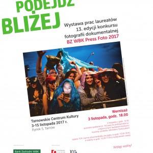 Zaproszenie na wernisaż wystawy BZ WBK Press Foto