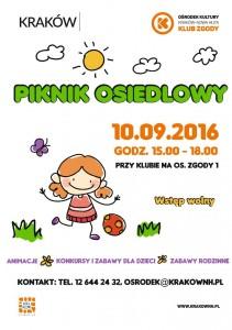 Plakat przesłany przezOrganizatora (Ośrodek Kultury Kraków-Nowa Huta)