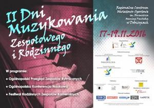 plakat pobrany zestrony Organizatora (Stowarzyszenia Polskich Muzyków Kameralistów)