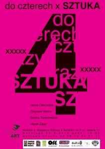 plakat nadesłany przezOrganizatora (Fundację Magazyn  Kultury)