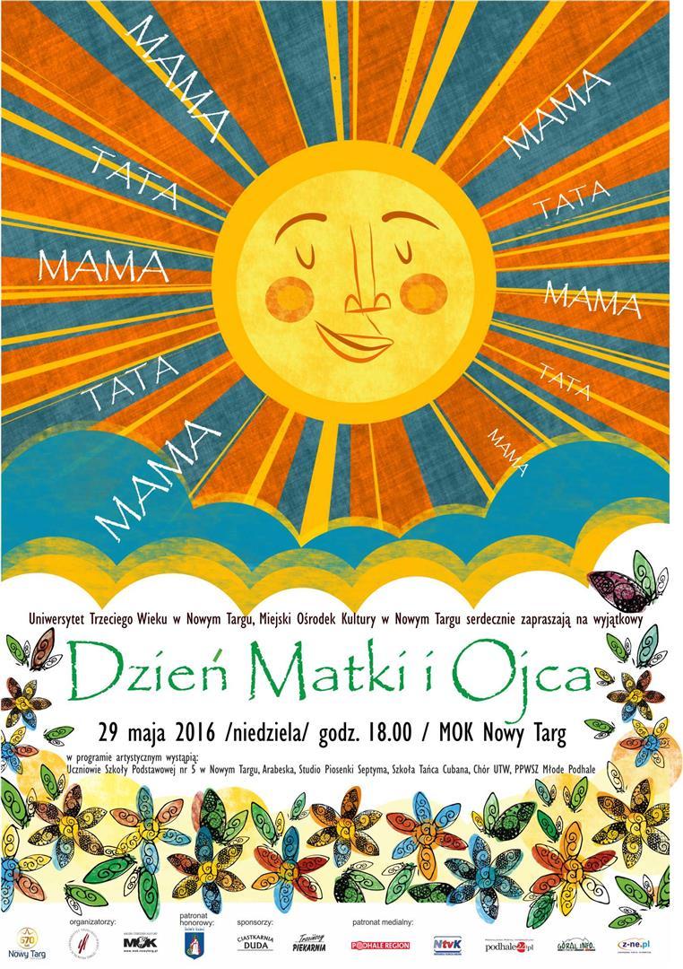 dzień matki plakat (Large)