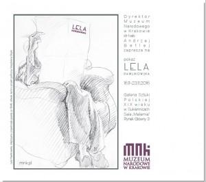 plakat nadesłany przezOrganizatora (Muzeum Narodowe wKrakowie)