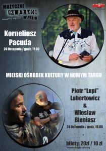 plakat nadesłany przezOrganizatora (Miejski Ośrodek Kultury wNowym Targu)