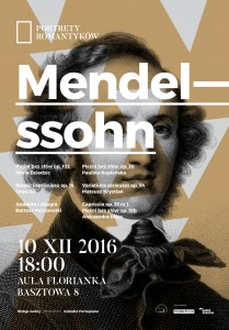 Plakat nadesłany przezOrganizatora (Akademia Muzyczna wKrakowie)