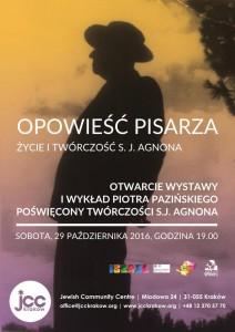 plakat pobrany zestrony Organizatora (Centrum Społeczności Żydowskiej wKrakowie)
