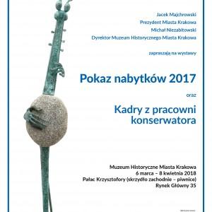 Pokaz nabytkow 2017 - plakat a.indd