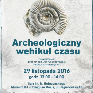 plakat nadesłany przez Organizatora (Muzeum Collegium Maius)