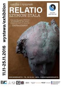 plakat nadesłany przezOrganizatora (Fundację New Era Art)