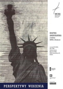 plakat nadesłany przezOrganizatora (Stowarzyszenie Międzynarodowe Triennale Grafiki wKrakowie)