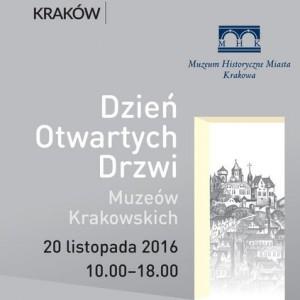 plakat pobrany ze strony Organizatora (Muzeum Historyczne Miasta Krakowa)
