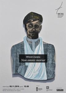 plakat nadesłany przezOrganizatora (Międzynarodowe Centrum Sztuk Graficznych wKrakowie)