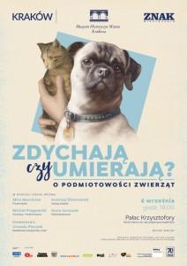 Plakat przesłany przezOrganizatora (Muzeum Historyczne Miasta Krakowa)